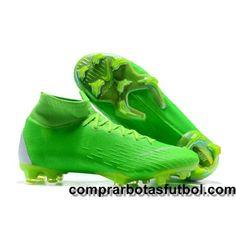 timeless design 87256 e1f1c Fotos Botas De Futbol Nike Mercurial Superfly VI 360 Elite FG Verde Blanco