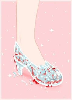 Cinderella by Saccstry on deviantart and tumblr