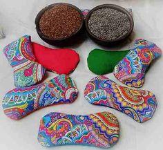 almohadillas terapeuticas de semillas termicas - yoga relax