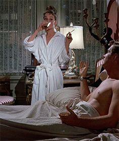 "hepburnincouture: "" Breakfast at Tiffany's, 1961 """