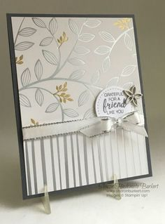 Let the Springtime Foils DSP do all the work . Contact me to find out how to get this beautiful DSP free! Foil Paper, Paper Cards, Wedding Anniversary Cards, Wedding Cards, Embossed Cards, Friendship Cards, Cards For Friends, Mini Albums, Sympathy Cards