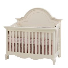 victorian crib collection at baby depot | Victoria Crib White Linen 381128406 | Cribs | Furniture | Nursery Room ...
