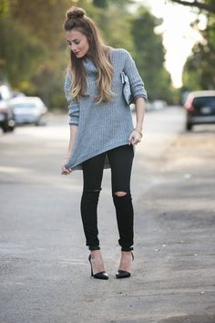 OOTD: Sweater Weather (not really) #HelloGorgeous