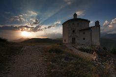 Santa Maria della Pietà. Italy Gran Sasso National Park