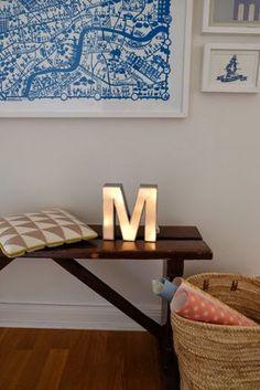 DIY-Leuchtbuchstabe Mehr