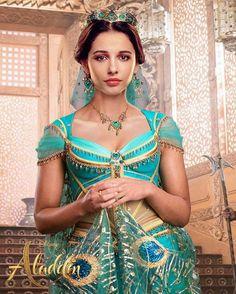 Princess Jasmine from Disney's live action movie, Aladdin Punk Disney, Walt Disney, Disney Live, Disney Fan Art, Disney Girls, Disney Princesa Jasmine, Jasmine E Aladdin, Aladdin Film, Watch Aladdin