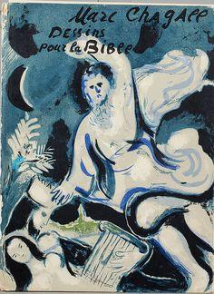 "Marc Chagall,  ""Dessins pour la bible"", Verve Vol X, No 37-38, Verve, Paris, 1960. on ArtStack #marc-chagall #art"