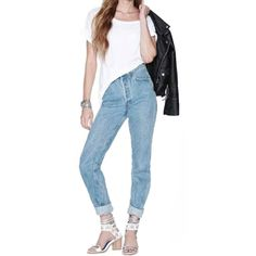 Boyfriend Jeans For Women 2016 High Waist Jeans Femme Woman Denim Pants  Plus Size Vaqueros Mujer 296efe400eba