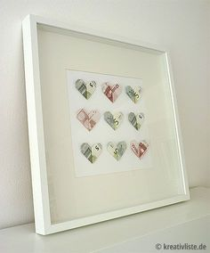 Wedding money gift - DIY heart shaped banknotes- Geldgeschenk zur Hochzeit – DIY Geldscheine in Herzform DIY hearts money gift for wedding – www. Diy Wedding, Wedding Favors, Wedding Gifts, Wedding Ideas, Diy Birthday, Birthday Gifts, Don D'argent, Creative Money Gifts, Gift Money
