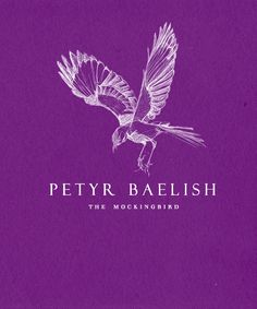 Petyr Baelish, also known as 'Littlefinger,' (A Game of Thrones) - personal sigil.