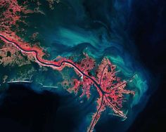 The Mississippi River (Pic:ESA)