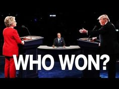 NO ONE WON THE DEBATE LAST NIGHT - YouTube