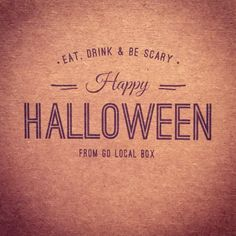 Everyone have a safe and happy Halloween!