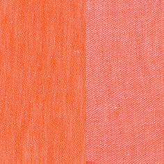 ANICHINI Fabrics   Linen Tweed Hibiscus Residential Fabric - an orange linen tweed fabric