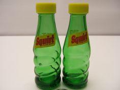 Fantastical Bird Salt And Pepper Shakers. Squirt Bottles Salt  Pepper Shakers Vintage Pre World War II fantasy Birds salt pepper shakers
