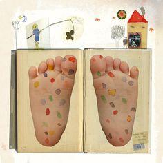 Gusti's illustration of a poem by Miguel Hernandez (Gusti, 2010) Con los pies de Mallkito!!!!