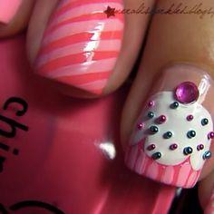 Birthday nails.