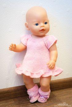 Ravelry: vasilka-knit's Stripey Doll Dress for A