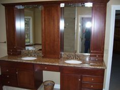 Master Bathroom - double vanity
