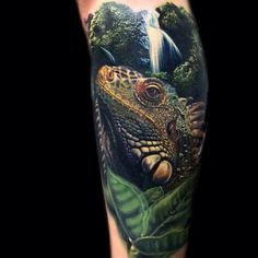Tattoo Reptile - http://tattootodesign.com/tattoo-reptile/ | #Tattoo, #Tattooed, #Tattoos