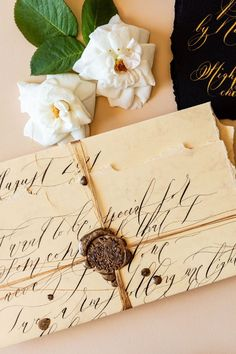 Villa Balbiano, cream, black and gold wedding invitations with wild and loose, bohemian calligraphy for an Italian wedding Wedding Invitation Video, Luxury Wedding Invitations, Luxury Wedding Venues, Destination Wedding, Calligraphy Wedding Stationery, Early Spring Wedding, French Wedding, Lake Como, Elopements