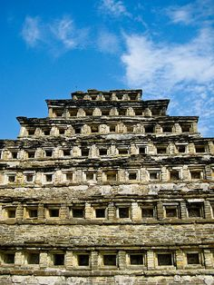 Located in the state of Veracruz, El Tajin was at its height from the early 9th to the early 13th century. It became the most important centre in north-east Mesoamerica after the fall of the Teotihuacan Empire. Its cultural influence extended all along the Gulf and penetrated into the Maya region and the high plateaux of central Mexico. Its architecture, which is unique in Mesoamerica, is characterized by elaborate carved reliefs on the columns .The 'Pyramid of the Niches', a masterpiece
