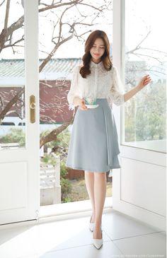 Korean fashion styles 603271312557932645 - Korean Women's Fashion Shopping Mall, Styleonme. N Source by Korean Fashion Dress, Korean Street Fashion, Korean Outfits, Asian Fashion, Look Fashion, Fashion Dresses, Fashion Design, Korean Women Fashion, Fashion Trends