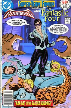 Super-Team Family: The Lost Issues!: Nightwing and The Fantastic Four