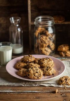 My decadent espresso chocolate chip cookies