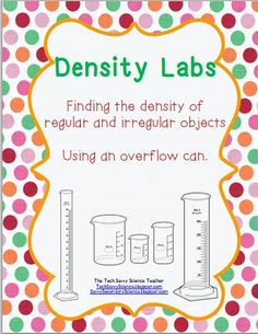 how to find the density of an irregular object formula