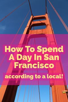 Top Things To Do In San Francisco when you are visiting! A list of all the cute spots for photos, the best eats, and where to find your hotel! Read my San Francisco Travel Guide here: http://whimsysoul.com/san-francisco-travel-guide/ #travelguide #sanfrancisco #california