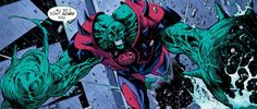 The Justice League confronts J'onn J'onnz as he discovers the horrible secret at the root of global terrorist attacks in Martian Manhunter Comic News, Comic Reviews, Martian Manhunter, Pokemon Cosplay, Deathstroke, Comic Games, Batwoman, Black Canary, Young Justice