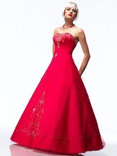 US $116.99 | (FITS0255329)2012 Style A-line Sweetheart Applique Sleeveless Floor-length Taffeta Prom Dresses / Evening Dresses
