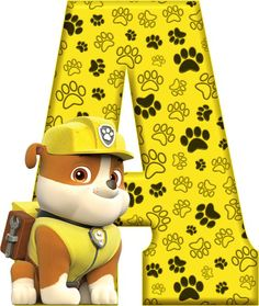 A Paw Patrol - Rubble