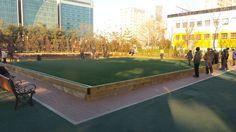 영등포공원의 게이트볼장