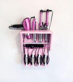 idea, tool organization, organize makeup, hair tools, beauti, makeup holders, diy, organizing makeup, bathroom stuff
