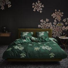 Essenza Mako-Satin Bettwäsche Lauren green Essenza Homeessenza Home Lauren Green, Comforters, Blanket, Interior, Inspiration, Furniture, Home Decor, Products, Form