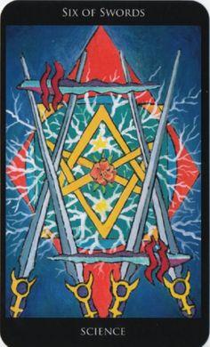 Image result for 6 of swords rosetta
