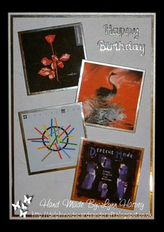 A5 Card - Depeche Mode Card