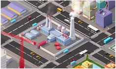 Ultimate Low Poly Megapolis (City + Suburbs) Pack 1 on Behance
