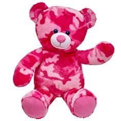 16 in. Pink Camo Bear | Build-A-Bear Workshop