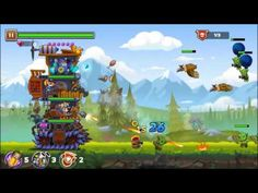 Monster Mania TD: Tanks android game first look gameplay español