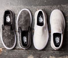 a5084b8631fb12 Vans Slip-On Cracked Leather Pack (Jesien 2015) Vans Slip On Shoes