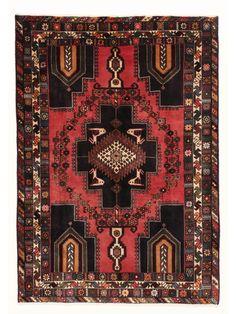 Tapis persans - Afshar  Dimensions:175x123cm