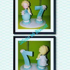 SILVIA SÓ BISCUIT: Está tão gelado!!! É só um topo de bolo Frozen che...