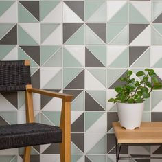 <p>We're sharing a few favorite triangle tile installations to get you inspired.</p>