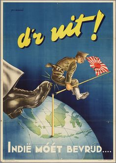 """""""India Must Be Freed"""" Holland c. 1945"""