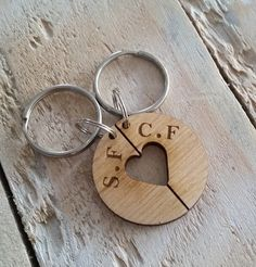 Loved Ones Keyring - Maple Wood, personalised keep sake £20.00
