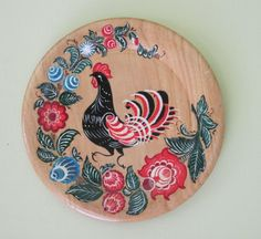 Russian folk art rooster by Wintella on DeviantArt Folklore, 2017 Rooster, Russian Folk Art, Russian Culture, India Culture, Chickens And Roosters, Naive Art, Tole Painting, Art Google