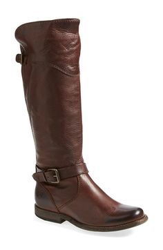 Frye 'Phillip' Riding Boot (Women) available at #Nordstrom. And I think the Melissa Trapunto Boot is handsome too.